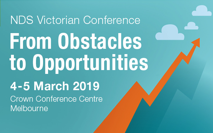 ext reads, NDS Victorian Conference 4-5 March 2019, From Obstacles to Opportunities