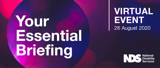 Banner reads: Your Essential Briefing, virtual event Wednesday, 26 August 2020