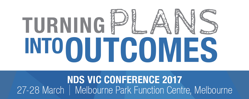 NDS Victoria Conference banner