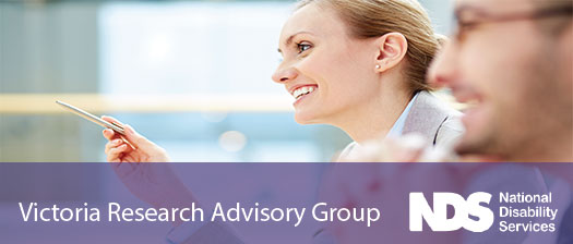 NDS Victoria Research Advisory Group