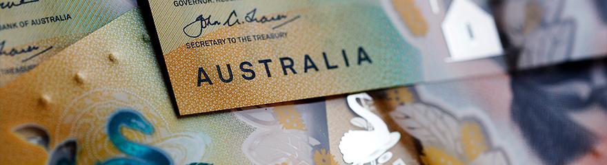 Australian fifty dollar notes