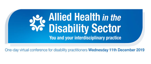 allied health in the disability sector event