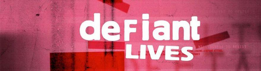 Defiant Lives title