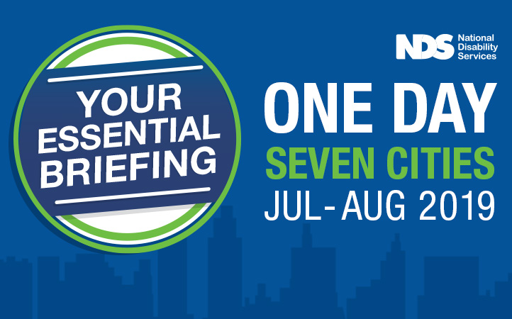 your essential briefing - One day seven cities Jul - Aug 2019