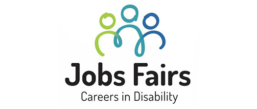 Jobs Fairs logo with three people in a row