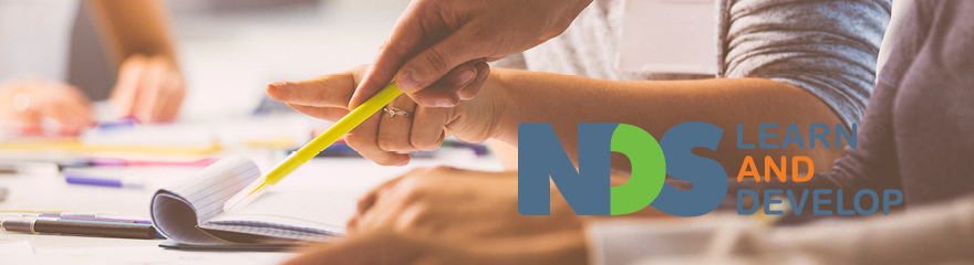 NDS Learn and Develop logo