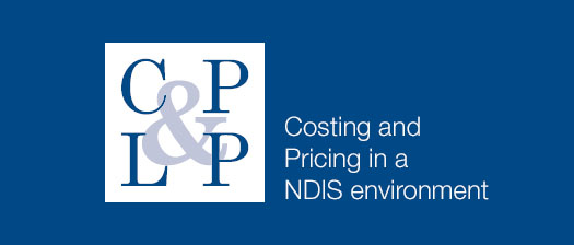 Costing and Pricing in a NDIS environment