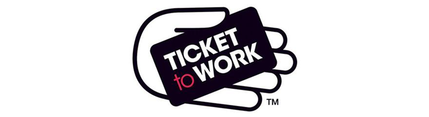 Ticket to Work logo banner