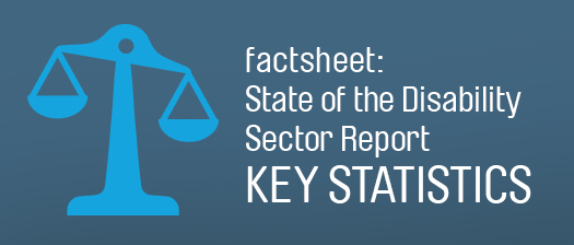 Factsheet: State of the Disability Sector Report