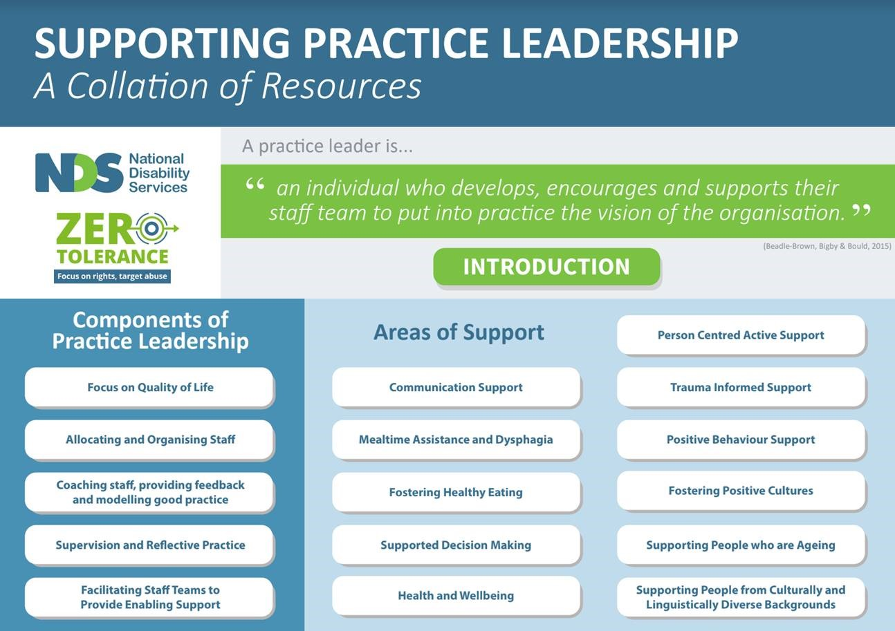 iPDF Supporting Practice Leadership