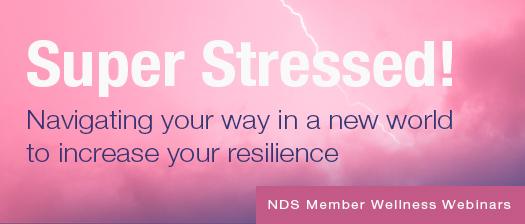 NDS Wellness webinar #3 banner