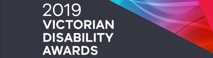 2019 victorian disability awards event banner
