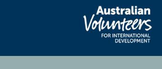 Australian Volunteers for International Development (AVID) logo