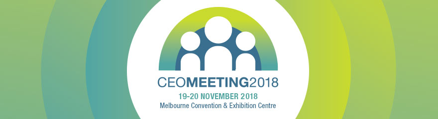 CEO Meeting 2018 event banner