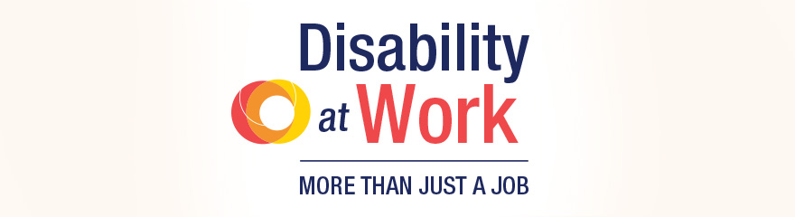 diasability at work more than just a job with circle logo