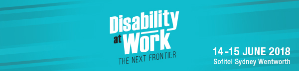 Disability at Work conference banner