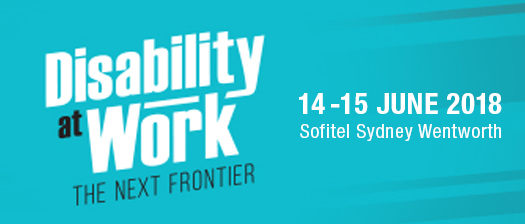 Disability at Work 2018 banner