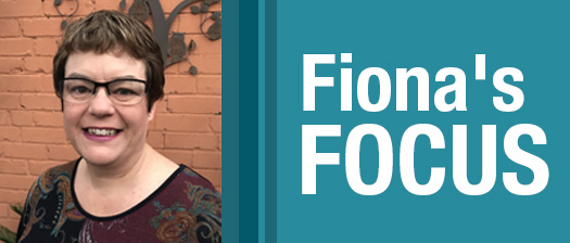 Fiona's Focus banner: image of NDS Victorian state manager Fiona Still