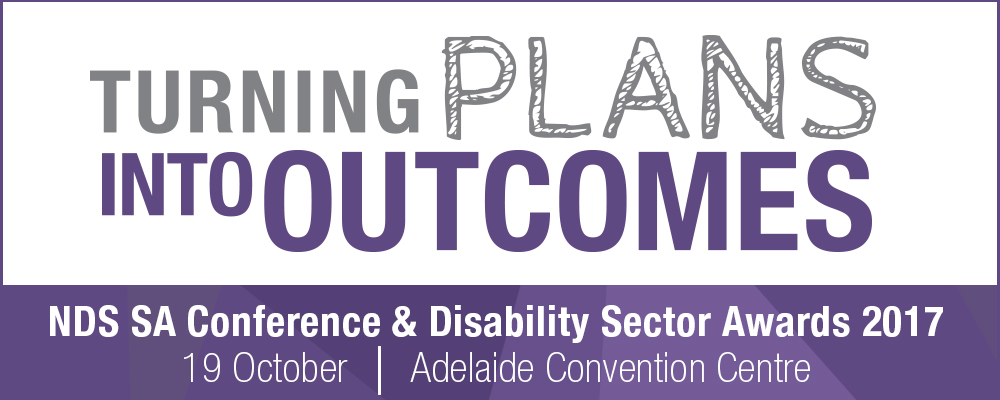 SA conference and awards event banner