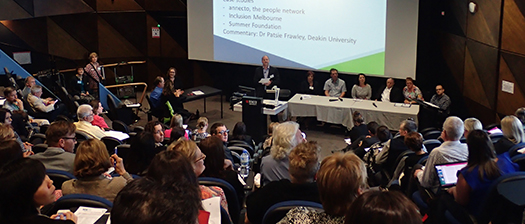 NDIA presentation at Melbourne NDS Research to Action forum
