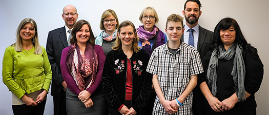 Photo of the NDS Tasmanian team