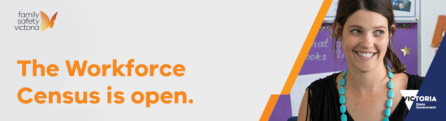 Family violence census banner