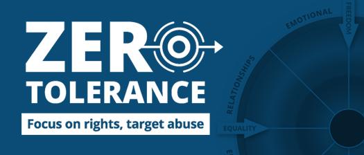 Zero Tolerance logo banner