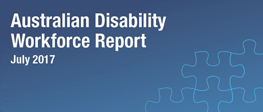 Australian Disability Workforce Report banner