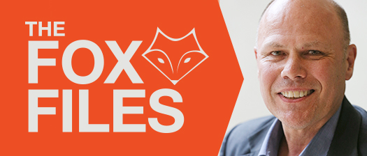 Headshot of NDS ACT State Manager Stephen Fox with text reading 'The Fox Files'