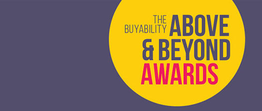 BuyAbility Above and Beyond Awards banner