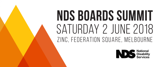 NDS Boards Summit 2018 banner