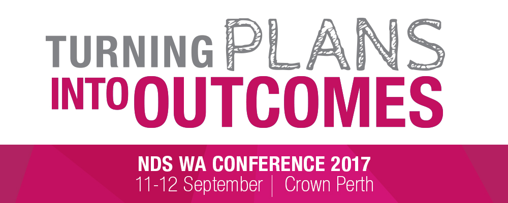NDS WA Conference banner