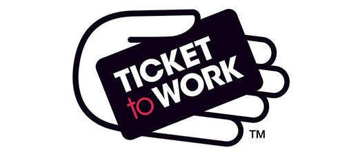 Ticket to Work logo and banner