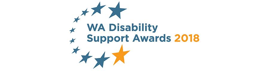 WA Disability Services Awards 2018 logo