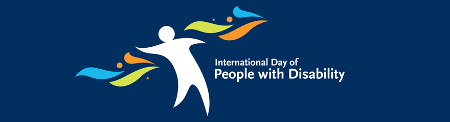 Brand banner reads: International Day of People with Disability