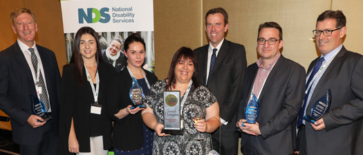 Photo of Disability Employment Excellence Awards winners
