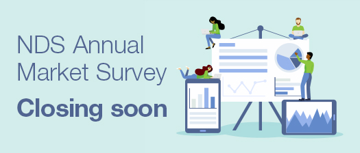 Image reads: NDS Annual Market Survey closing soon