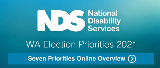 Reads WA Election Priorities 2021. Seven priorities online overview