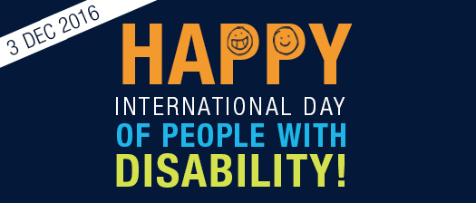 Celebrating International Day of People with Disability