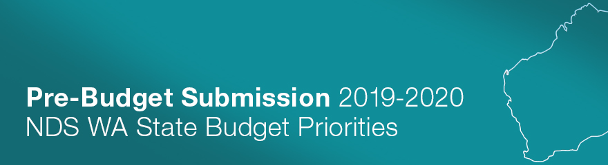 WA Pre-Budget Submission banner with icon of WA