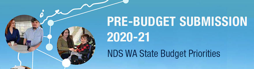 NDS WA Pre-budget submission 2020-21