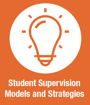 Student supervision models strategies